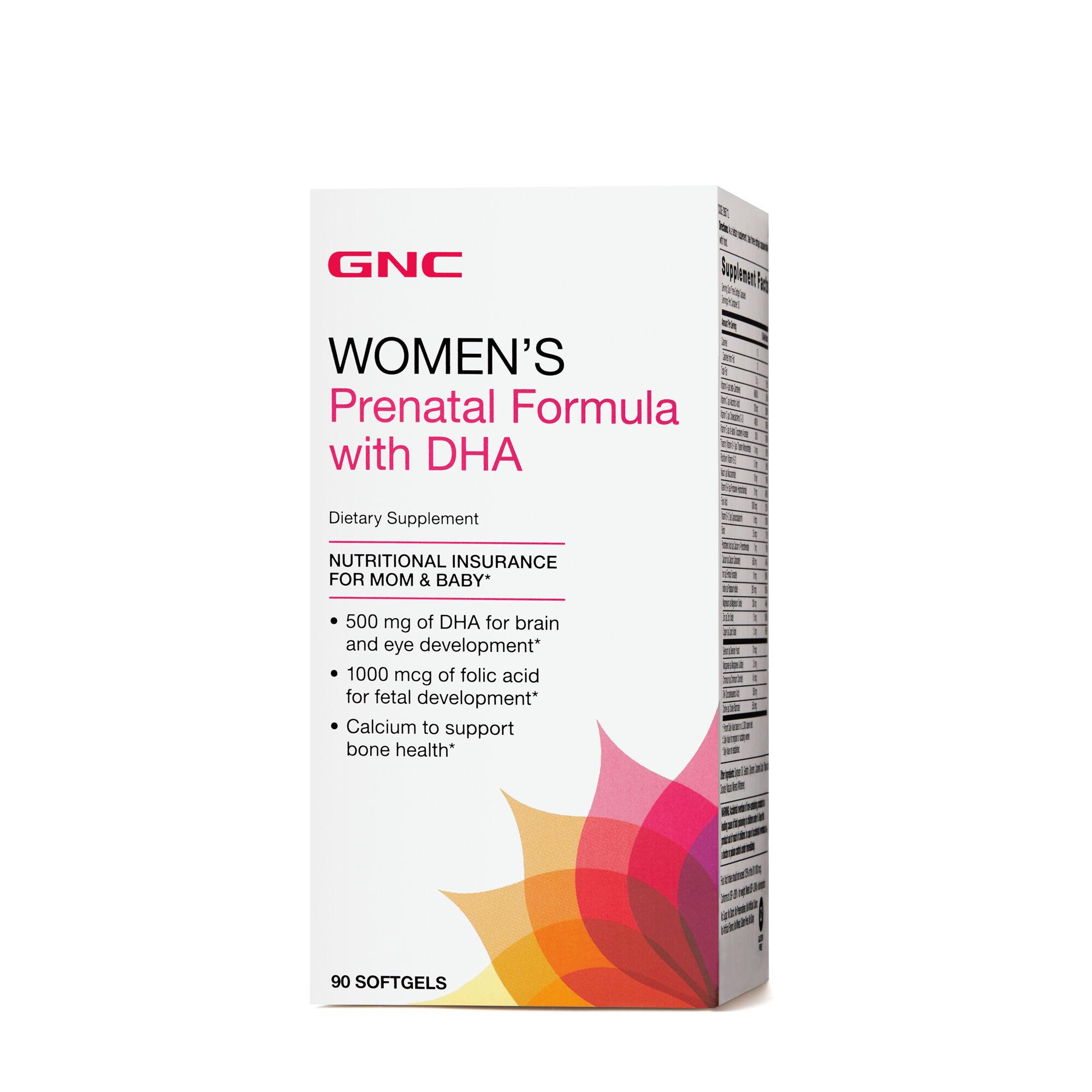 Women's Formula Dha With Gnc Prenatal 8on0pwnkx uTJc1lFK3