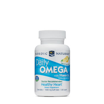 Daily Omega™ with Vitamin D3 1000 mg - Natural Fruit | GNC