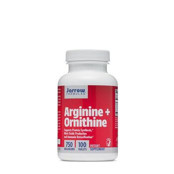 Arginine + Ornithine 750 MILLIGRAMS | GNC