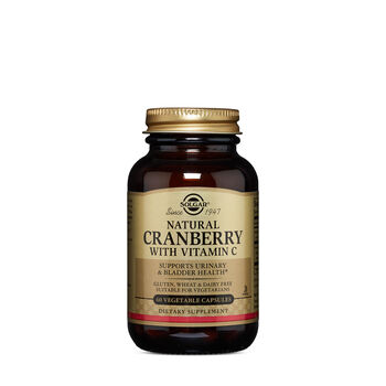Natural Cranberry with Vitamin C | GNC