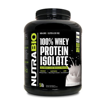 100% Whey Protein Isolate - Raw UnflavoredRaw Unflavored | GNC