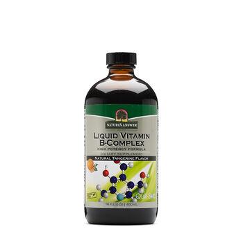 Liquid Vitamin B-Complex - Natural Tangerine Flavor | GNC