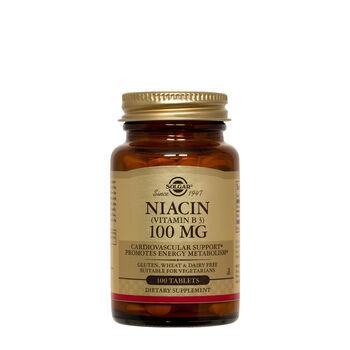 Niacin (Vitamin B3) 100 MG   GNC