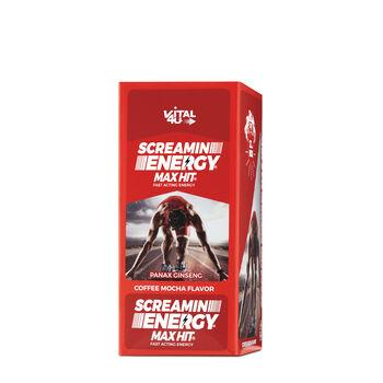 Screamin Energy Max Hit® - Coffee Mocha Flavor | GNC