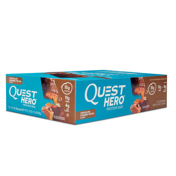 Quest Hero™ Protein Bar - Chocolate Caramel PecanChocolate Caramel Pecan | GNC