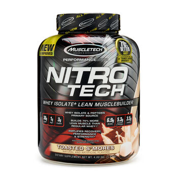 Nitro-Tech™ - Toasted S'moresToasted S'mores | GNC