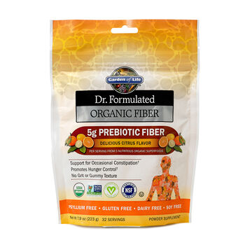 Dr. Formulated Organic Fiber - Citrus | GNC