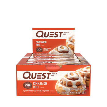 Quest Bar – Cinnamon RollCinnamon Roll | GNC