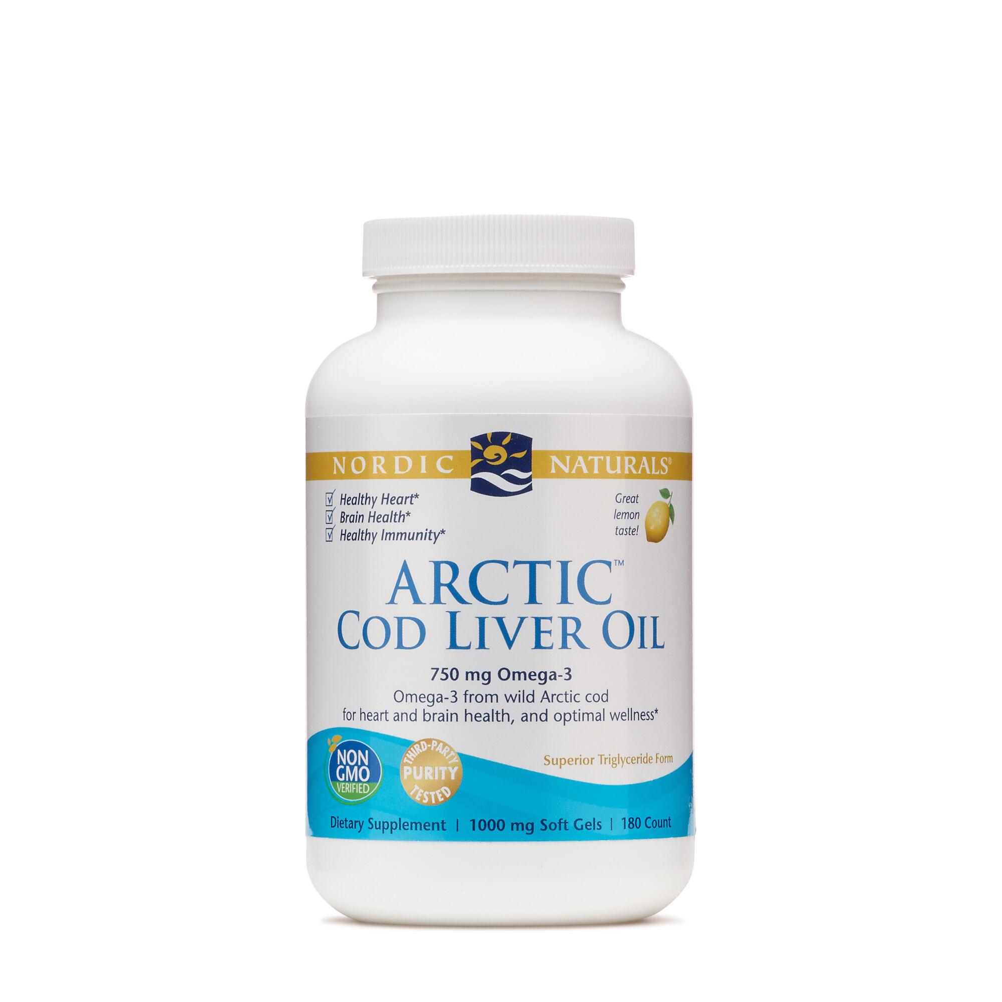 Nordic Naturals® Arctic Cod Liver Oil
