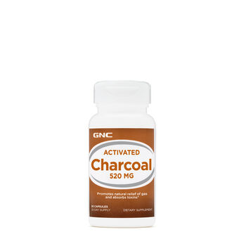 Activated Charcoal 520mg | GNC