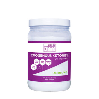 Exogenous Ketones With Electrolytes - Lemon Lime | GNC