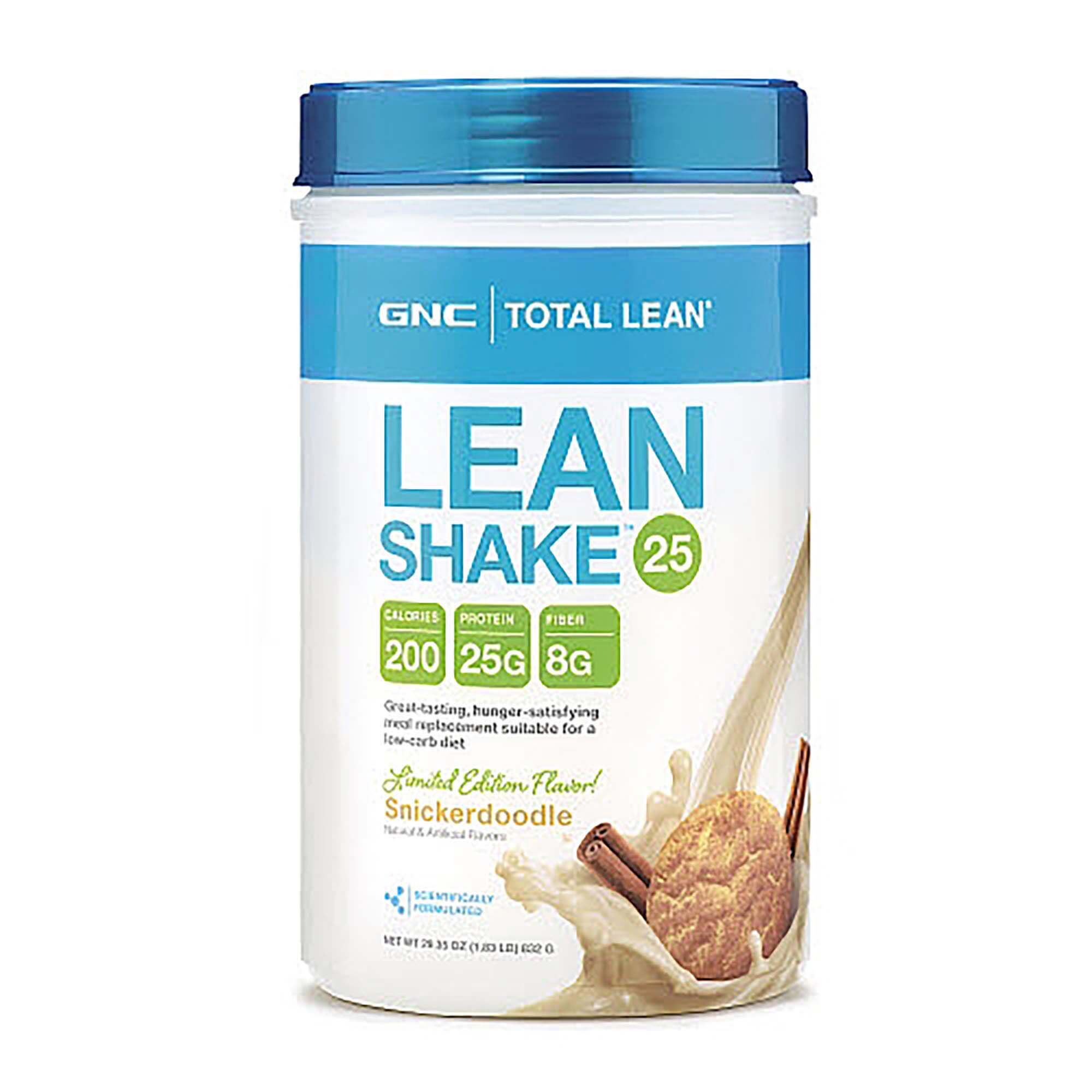 Lean Shake? 25 - Snickerdoodle - 2 Lb(S) - GNC Total Lean? - Meal Replacement Powders