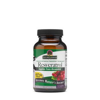 Nature S Answer Resveratrol 500mg Gnc