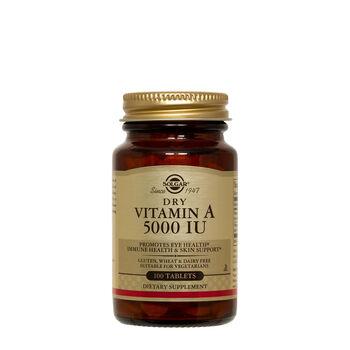 Dry Vitamin A 1500mcg | GNC