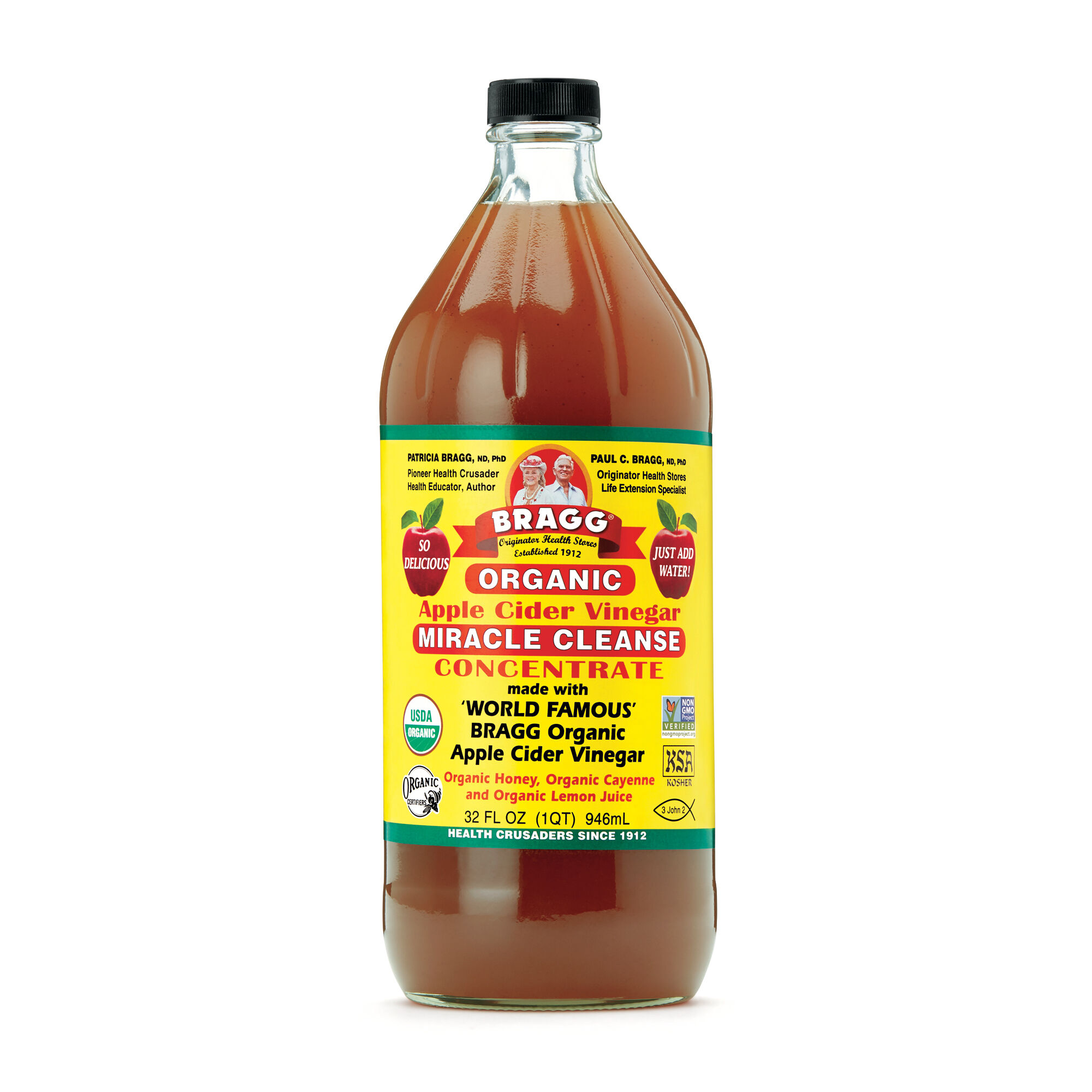 Bragg Organic Apple Cider Vinegar Miracle Cleanse