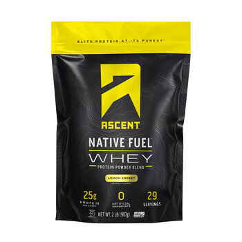 Native Fuel™ Whey - Lemon SorbetLemon Sorbet | GNC