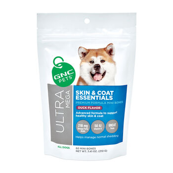 GNC Ultra Mega Skin & Coat Essentials - Tasty Duck Flavor | GNC
