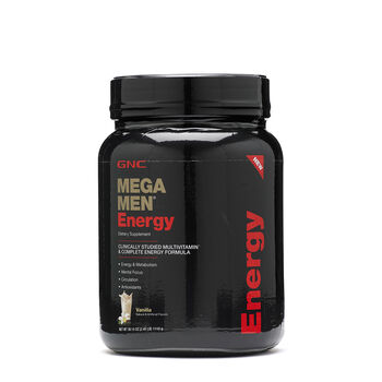 Mega Men® Energy - Vanilla | GNC