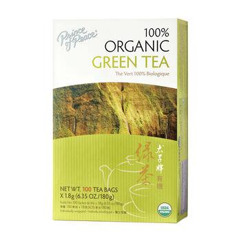 100% Organic Green Tea | GNC