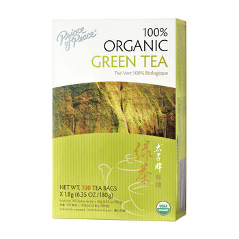 100% Organic Green Tea   GNC