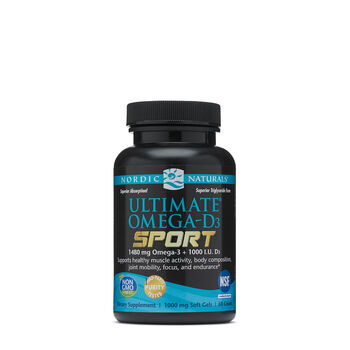 Utimate® Omega-D3 Sport | GNC