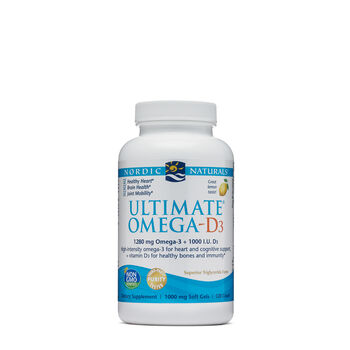 Ultimate® Omega-D3 | GNC