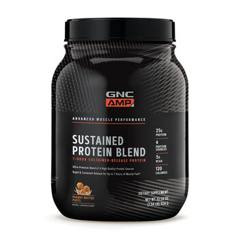 Sustained Protein Blend - Peanut Butter PuffsPeanut Butter Puffs | GNC