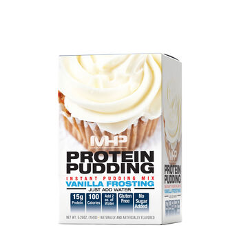Protein Pudding Instant Pudding Mix - Vanilla FrostingVanilla Frosting   GNC