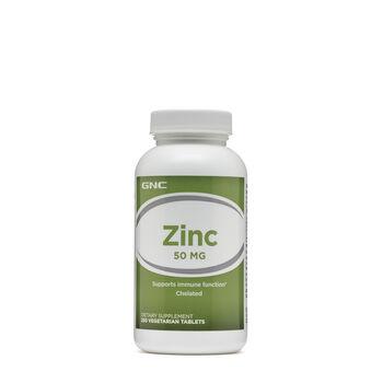 Zinc 50 MG   GNC