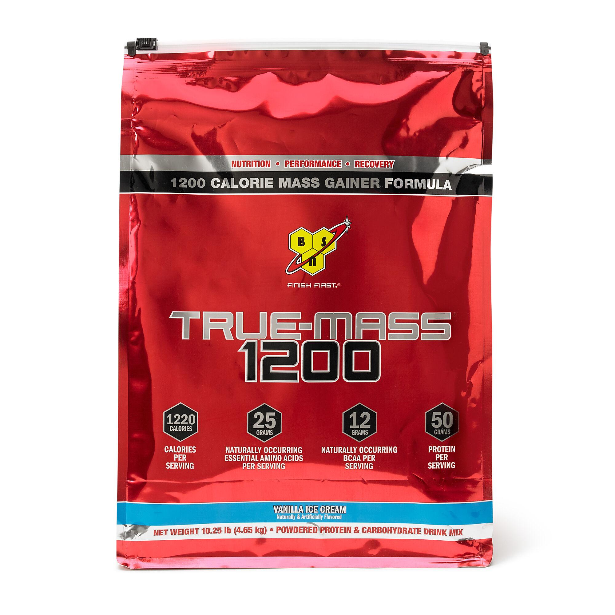 Frisk BSN® True Mass® 1200 - Vanilla Ice Cream | GNC BY-81