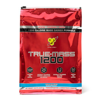 True Mass® 1200 - Vanilla Ice CreamVanilla Ice Cream | GNC
