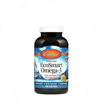 EcoSmart Omega-3 - Natural Lemon Flavor   GNC