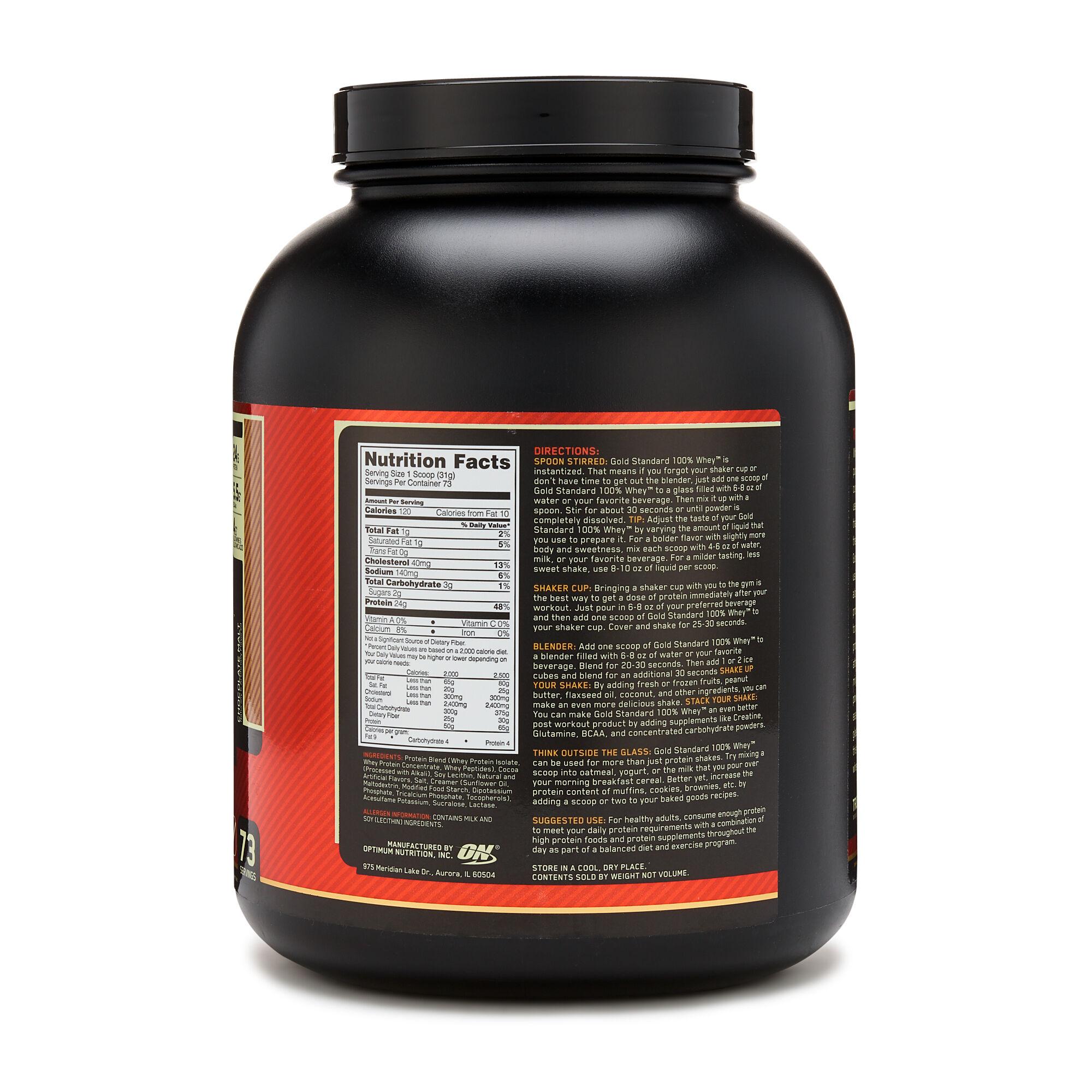 Optimum Nutrition 100 Whey Gold Standard Whey Protein ...