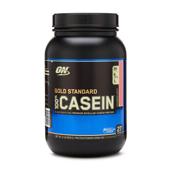 Gold Standard 100% Casein™- Strawberry CreamStrawberry Cream | GNC