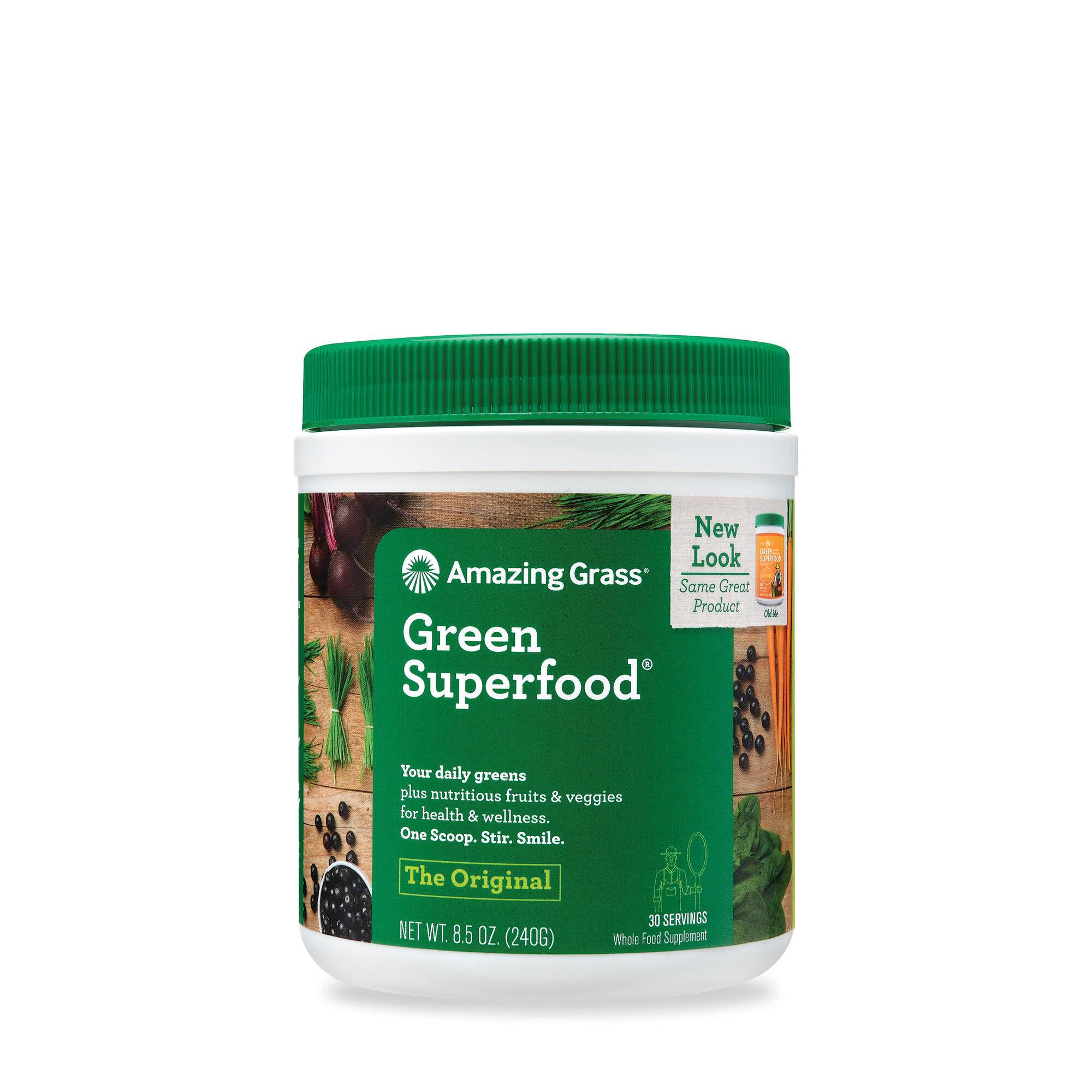 Best Green Superfood Powder 2020.Amazing Grass Green Superfood Drink Powder