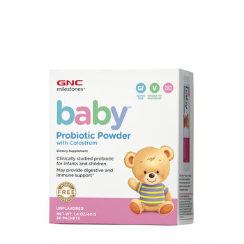 Baby™ Probiotic Powder with Colostrum - Unflavored | GNC