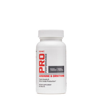 Arginine and Ornithine | GNC
