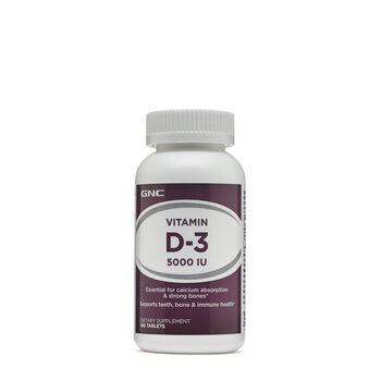 Vitamin D-3 5000 IU | GNC