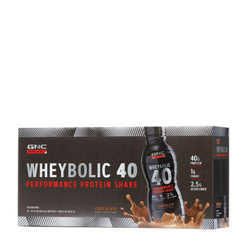 : Amplified Wheybolic 40 - ChocolateChocolate | GNC