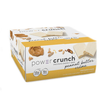 Power Crunch® Creme Filled Wafer Cookie - Peanut Butter CremePeanut Butter Creme | GNC