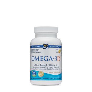 Omega-3D™ - Lemon | GNC