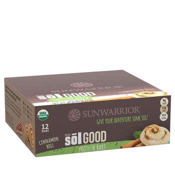 Organic Sōl Good Protein Bars - Cinnamon RollCinnamon Roll | GNC