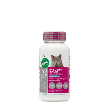 Ultra Mega Hip & Joint Health for All Cats - Fish Flavor | GNC