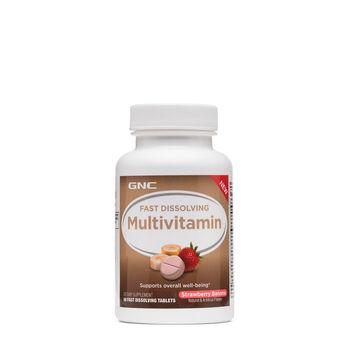 Fast Dissolving Multivitamin - Strawberry Banana | GNC