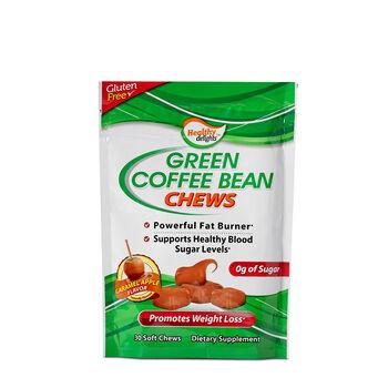 Healthy Delights Green Coffee Bean Chews Caramel Apple Gnc
