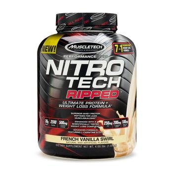 Nitro-Tech RIPPED™ - French Vanilla SwirlFrench Vanilla Swirl | GNC