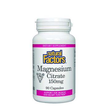 Magnesium Citrate 150 mg | GNC