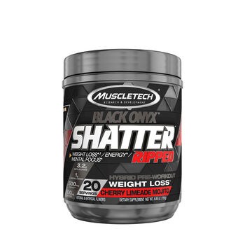 Shatter™ Ripped Black Onyx® - Cherry Limeade MojitoCherry Limeade Mojito | GNC