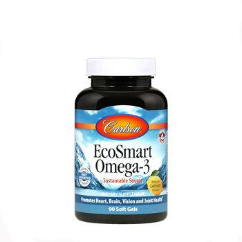 EcoSmart Omega-3 - Natural Lemon Flavor | GNC