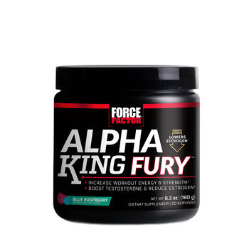 Alpha King Fury™ - Blue Raspberry Blue Raspberry | GNC